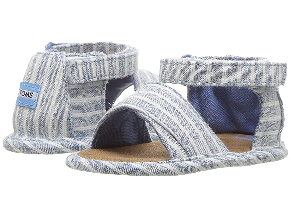 TOMS Kids Shiloh (Infant/Toddler) (Sky Washed Stripe) Kid