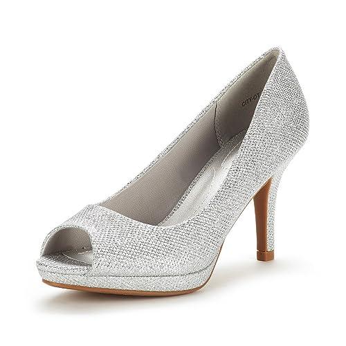 d72e5c7ce7fce Women's Peep Toe Shoe: Amazon.com