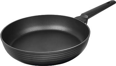 "MasterPan Multi skillet Non-Stick Cast Aluminum Fry Pan, Non-stick Frying Pan Omelette Pan, 11"", Black, Designer Series, M..."