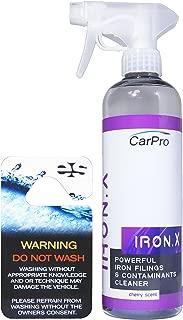 CarPro Iron X 500ml with Sprayer and ES Hanger