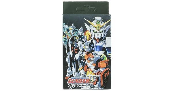 GE Animation Gundam Wing Playing Cards Cool Anime Item 85501