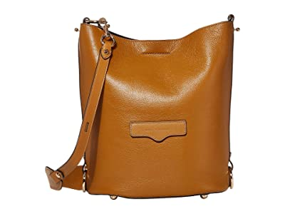 Rebecca Minkoff Utility Convertible Bucket (Nutmeg) Handbags
