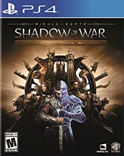 Middle-Earth: Shadow of War - Gold Edition (輸入版:北米) - PS4