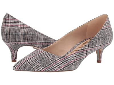 Sam Edelman Dori (Black/White/Pink Multi Plaid Bale Fabric) Women