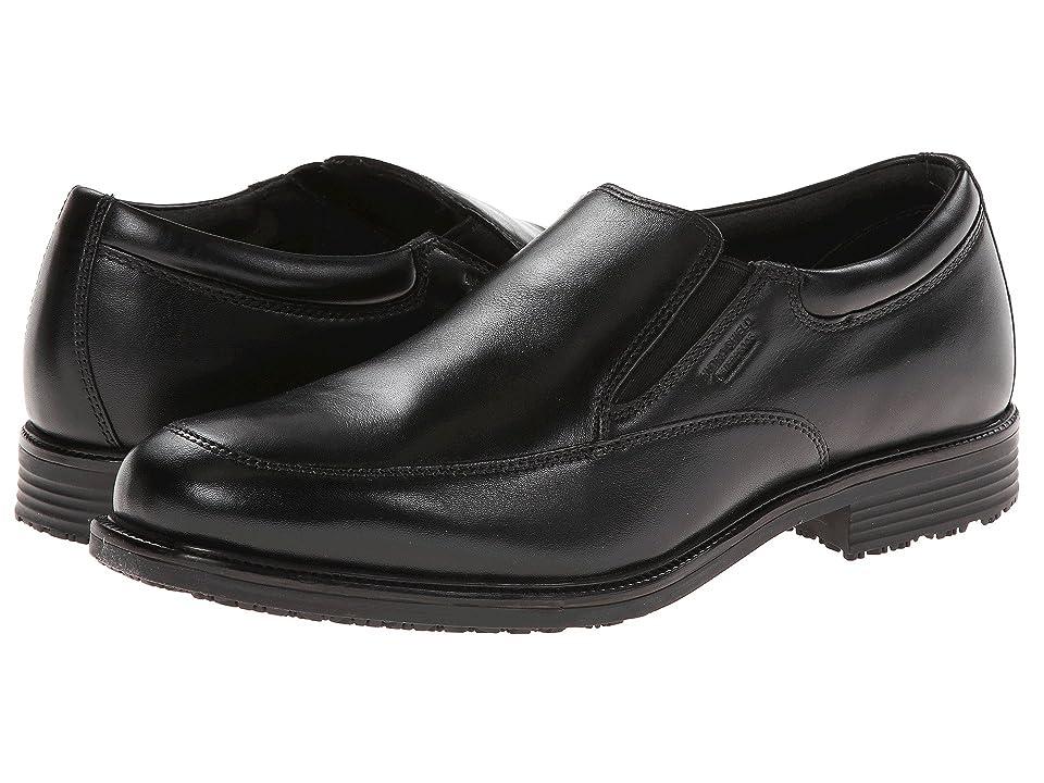 Rockport Lead the Pack Slip-On (Black WP Leather) Men