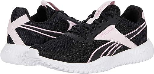 Black/Pixel Pink/White