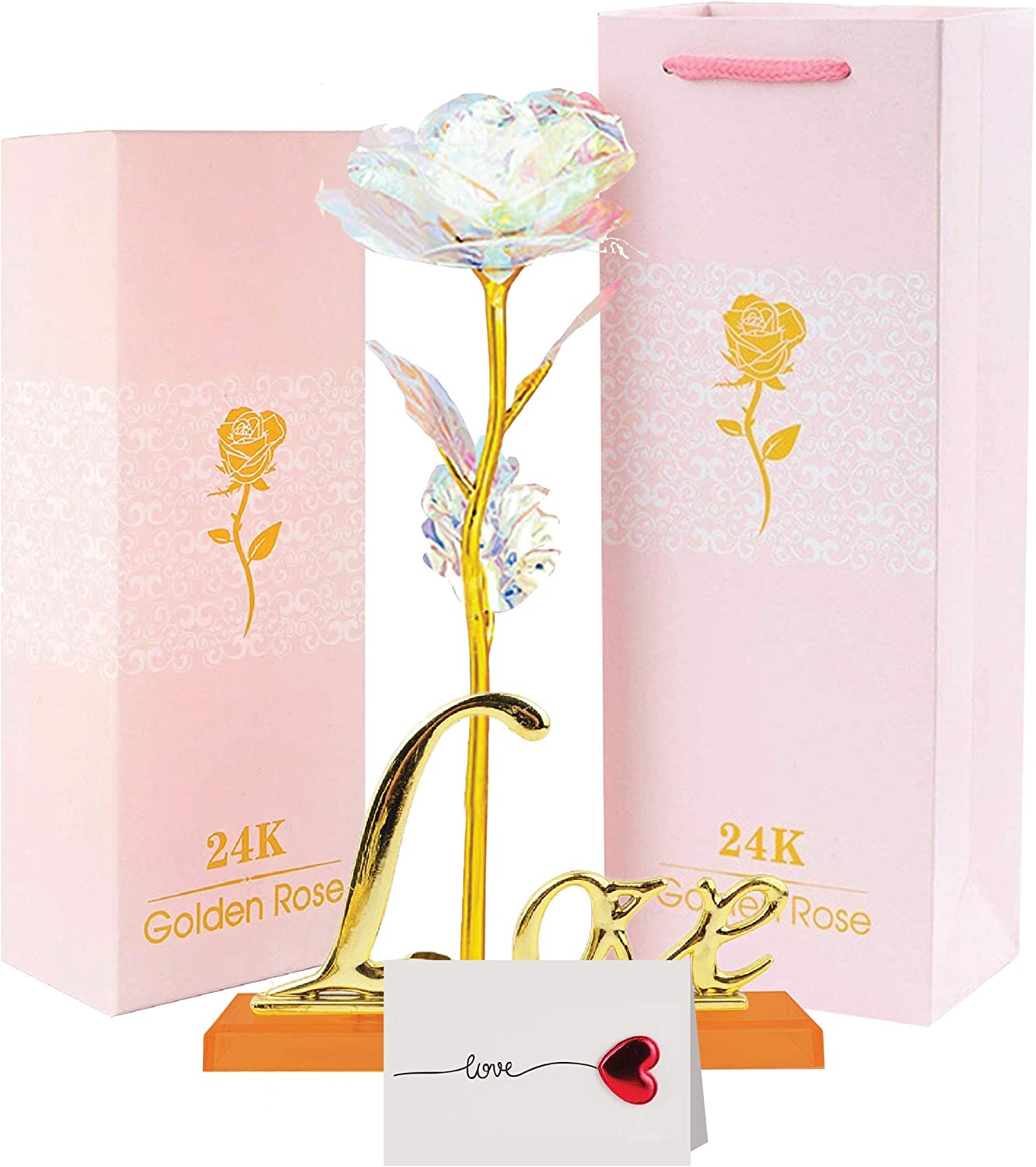 Galaxy Rose Flower 35% OFF Gift Valentine's Super sale period limited Day - In Mother's Presents
