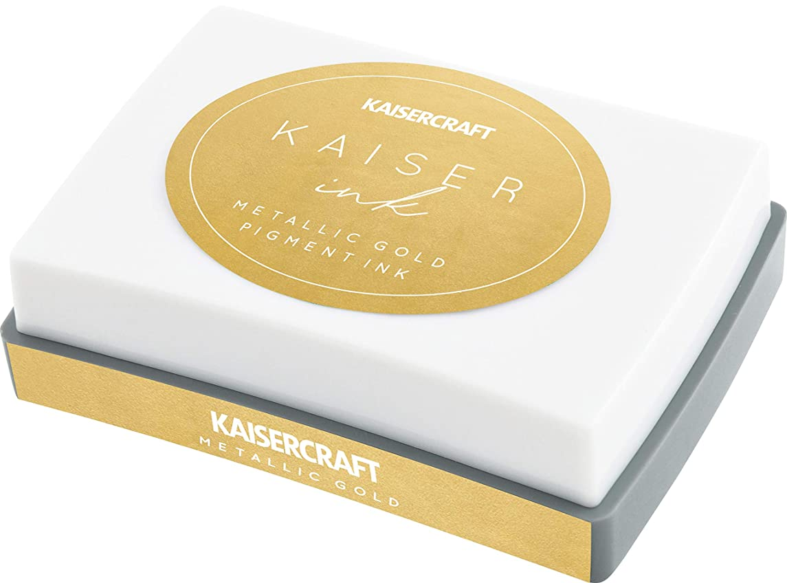 Kaisercraft IP756 KaiserInk Ink Pad-Gold