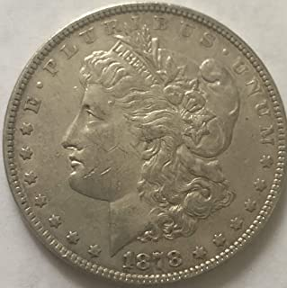 1878 morgan dollar 7 tail feathers
