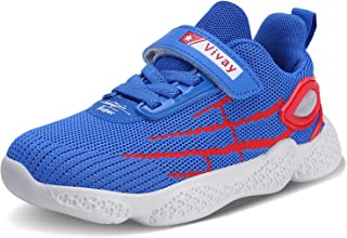 Vivay Kids Girls Tennis Shoes Boys Breathable Lightweight Running Sneakers for Little Kid/Big Kid