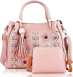 Fiesto Fashion Women's Handbag and Sling Bag Combo
