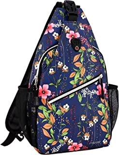 MOSISO Rope Sling Backpack (Up to 13 Inch), Multipurpose Crossbody Chest Shoulder Outdoor Travel Hiking Daypack