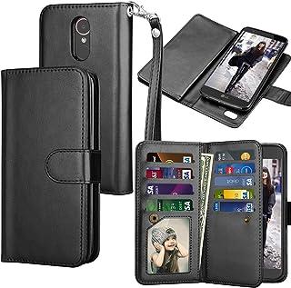Tekcoo for LG Stylo 3 Wallet Case/LG Stylo 3 Plus/LG Stylus 3 PU Leather Case, Luxury ID..