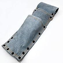 玉日本 鋸鎌・園芸鋏・折込鋸用ケース 2段式 床皮製