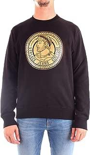 Jeans Couture Cotton Black Sweatshirt