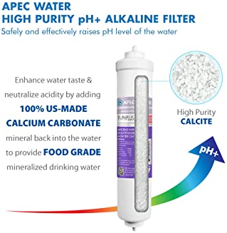 APEC Top Tier Supreme Certified Alkaline Mineral pH+ High Output 90 GPD 6-Stage Ultra Safe Reverse Osmosis Drinking W...