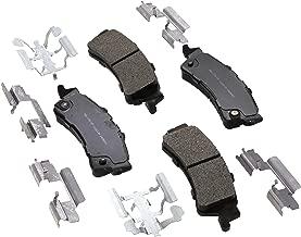 ACDelco 17D792MH Professional Semi-Metallic Rear Disc Brake Pad Set