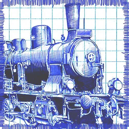 Paper Train - Carry stickman passengers