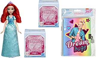 Princess Royal Shimmer and Classic Fashion Doll Gift Set Including JoJo Mini Diary and Gem Collection Mystery Box (Ariel)