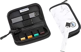 Pocket Carrying Case Holder and Skin Set Compatible with JUUL - Holds JUUL Devices, Pods and USB Charger (Device Not Included)