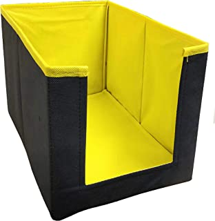 Unicrafts Shirt Stacker Organizer/Shirt Organiser Wardrobe Organizer- Yellow - Pack of 1 Cloth Organizer,Uni02_Y