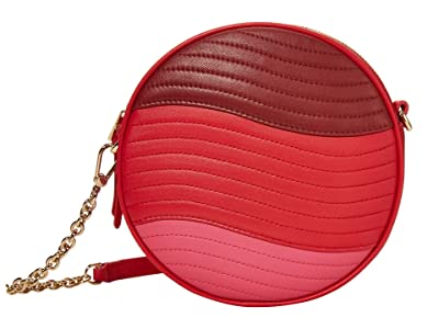 Furla Swing Mini Crossbody Round (Fragola/Ciliegia/Lipstick) Handbags