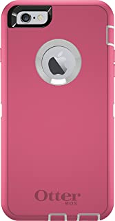 OtterBox DEFENDER iPhone 6 Plus/6s Plus Case - Retail Packaging - HIBISCUS FROST (WHITE/HIBISCUS PINK)