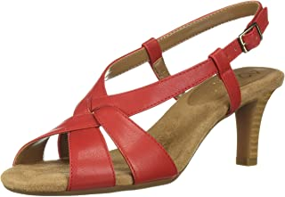 A2 by Aerosoles Women's PASSCODE Sandal, RED, 6 M US