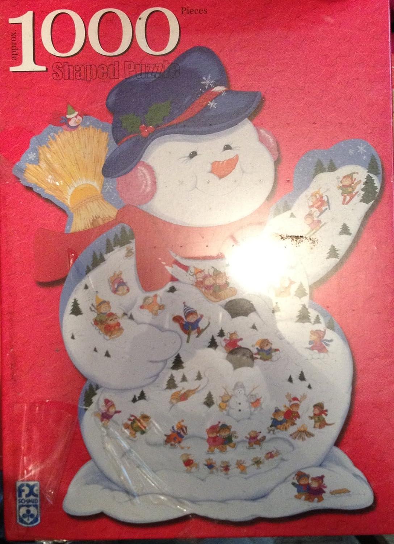 Snowman - Winter Carnival 1000pc Puzzle