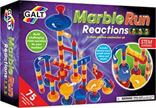 Galt Toys, Marble Run Reactions, Chain Reaction Kit for Ages 4+