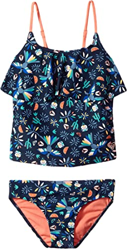 Roxy Kids - Birdy Tankini Top Set (Toddler/Little Kids)