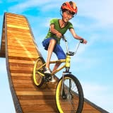 Jeux de casse-tête de vélo de cavalier de BMX impossible: Dirt Bike Racing Fièvre Pro Rush 3D Adventure Simulator 2018