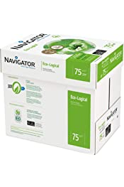 Navigator Universal White Copy Paper A4 75gsm 5 Reams 2500 Sheets