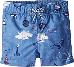 Mud Pie Sail Away Swim Trunks (Infant/Toddler)