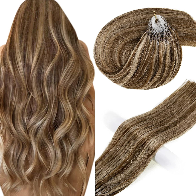 Vivien Brown Superior Industry No. 1 Hair Extensions Micro 16in Loop Human Highligh