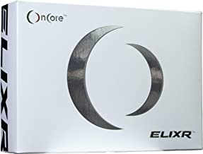 Oncore Golf The ELIXR PGA Tour Soft White Golf Balls Proximity | Velocity Urethane Straight Distance Performance | Greenside Control & Unmatched Putting Ability (One Dozen)