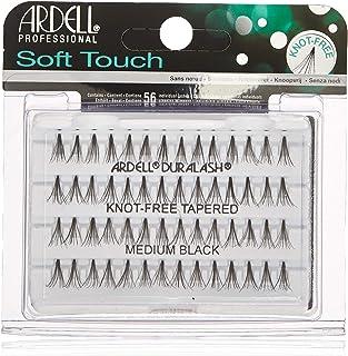 Ardell Profesjonalne - Soft Touch Knot-Free Tapered Individual Eyelashes - Medium Black