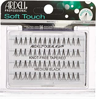 Ardell Soft Touch Medium Knot-Free Lashes, Black, Medium