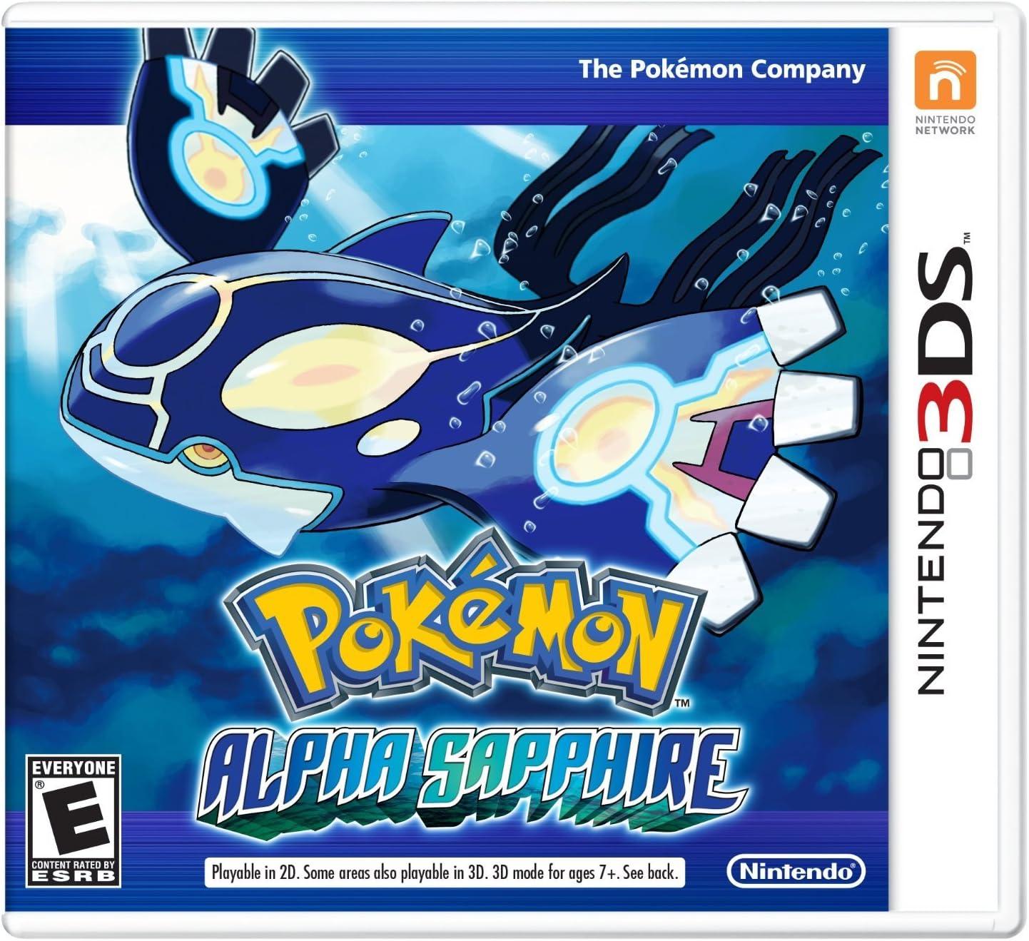 Pokemon Alpha 3ds Sapphire Denver Max 72% OFF Mall