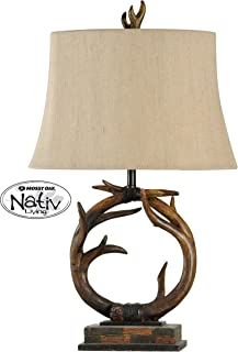 Collective Design 720354122585 Table Lamp, Dark Brown
