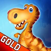 Dinosaur Island 2 : The Prehistoric Winter Ice Age Battle Food Adventure - Gold Edition
