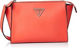 Guess Womens Cross-Body Handbag, Coral - UE766469