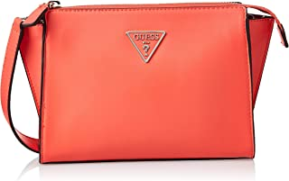 Guess Womens Cross-Body Handbag, Coral - UE766469