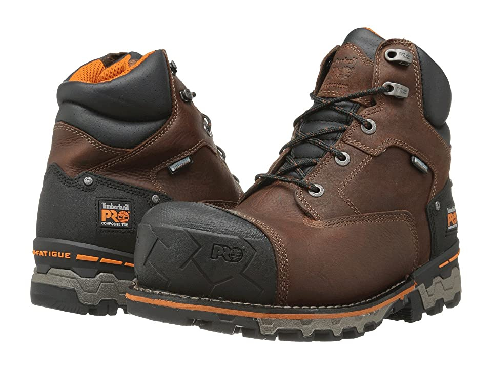 Timberland PRO Boondock 6 Comp Toe WP Ins (Brown) Men
