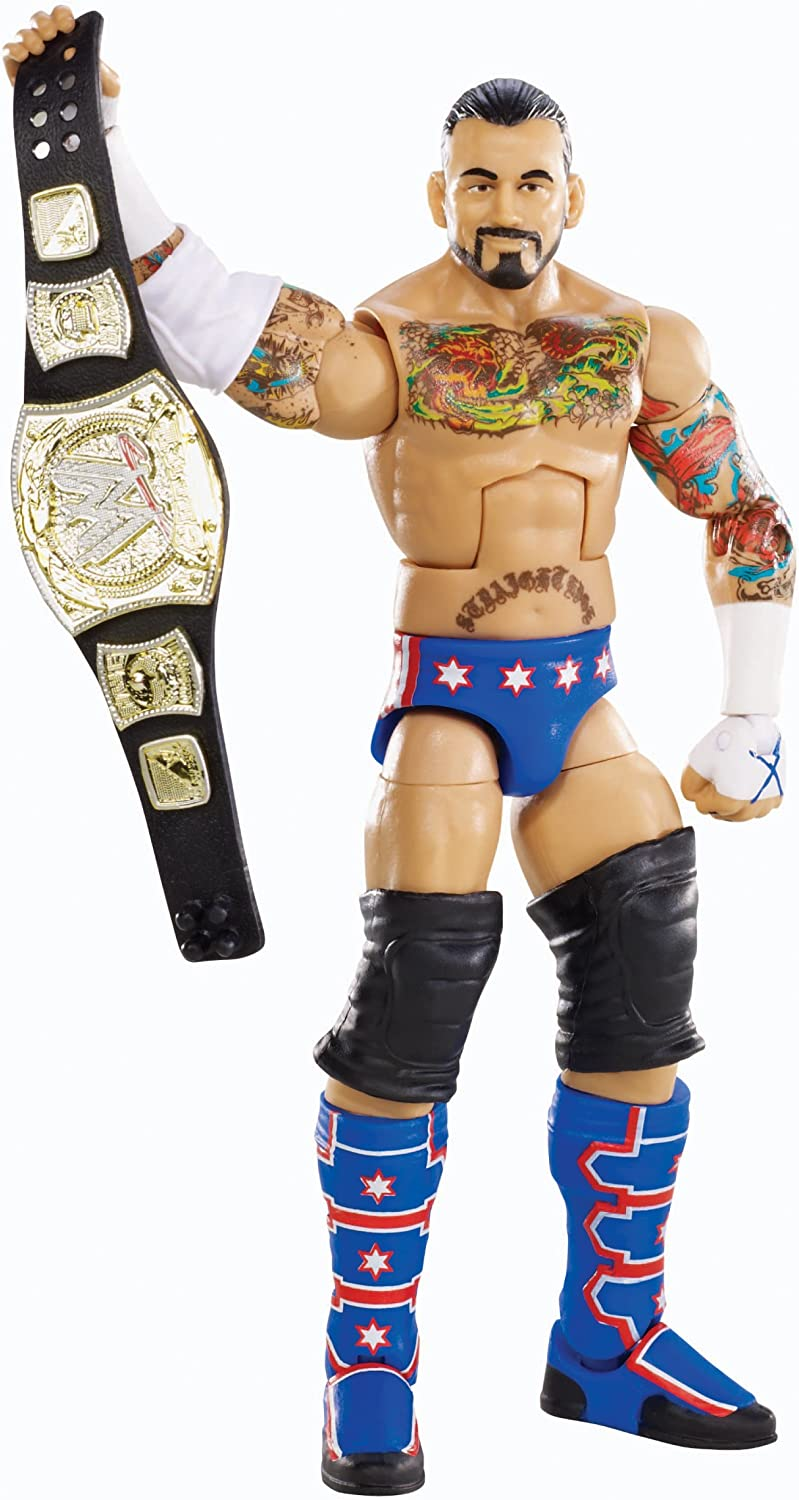 Mattel WWE Elite Collection CM Punk Action Figure