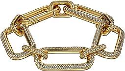 Iconic Pave Link Statement Bracelet