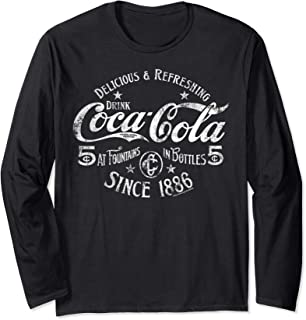 Delicious And Refreshing Distressed Sale Sign Logo Long Sleeve T-Shirt