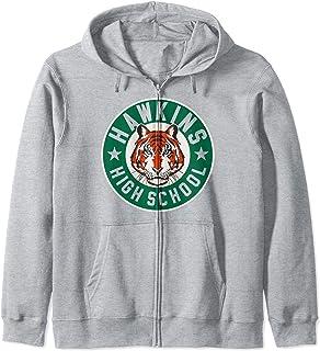 Netflix Stranger Things Hawkins High School Logo Sweat à Capuche