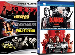 5 Players Django unchained Inglorious Basterds Quentin Tarantino Set Reservoir Dogs / Jackie Brown / Pulp Fiction Film Collection War / Western / Crime