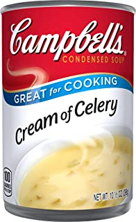 Campbell's Condensed Soup, Cream of Celery, 10.5 Ounce (Pack of 12)